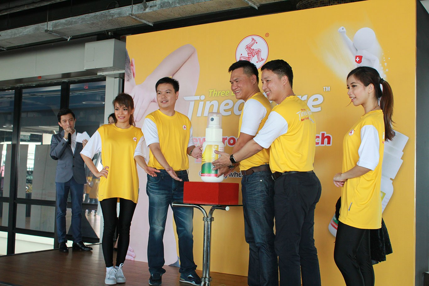 2016 - Tinea-Kare Launching